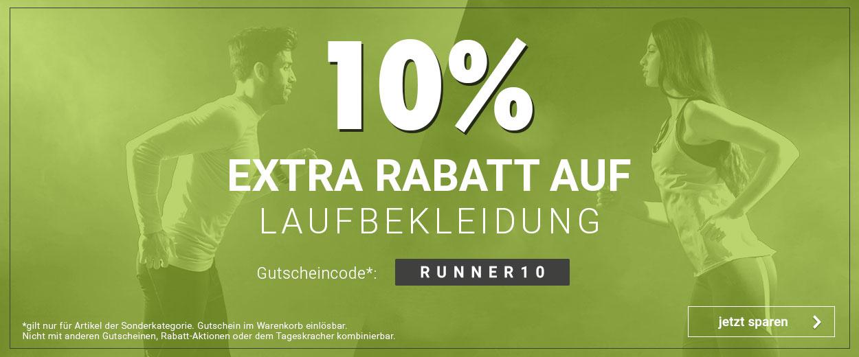 10% auf Laufbekleidung