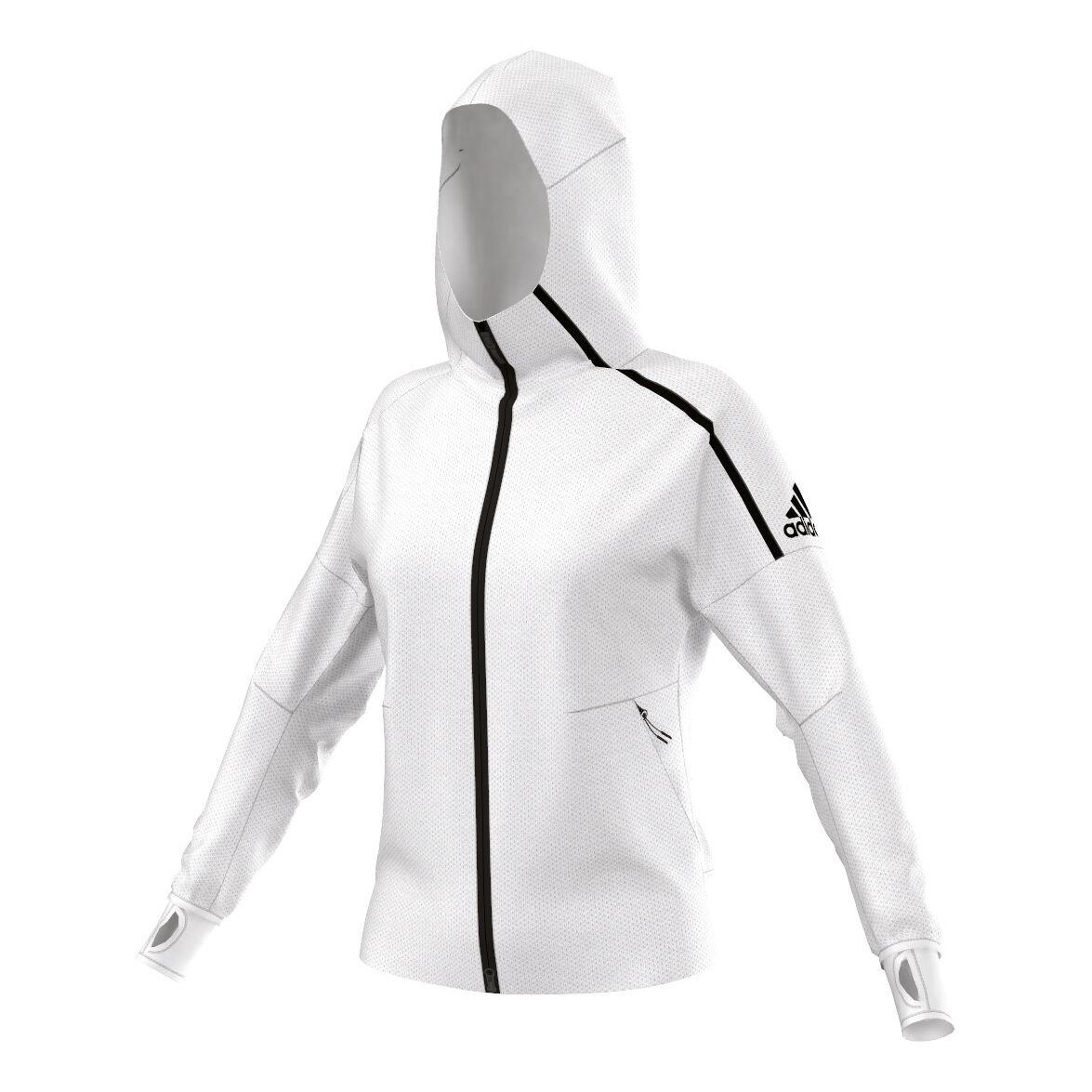 adidas ZNE Laufjacke Damen Weiß online kaufen | Jogging Point