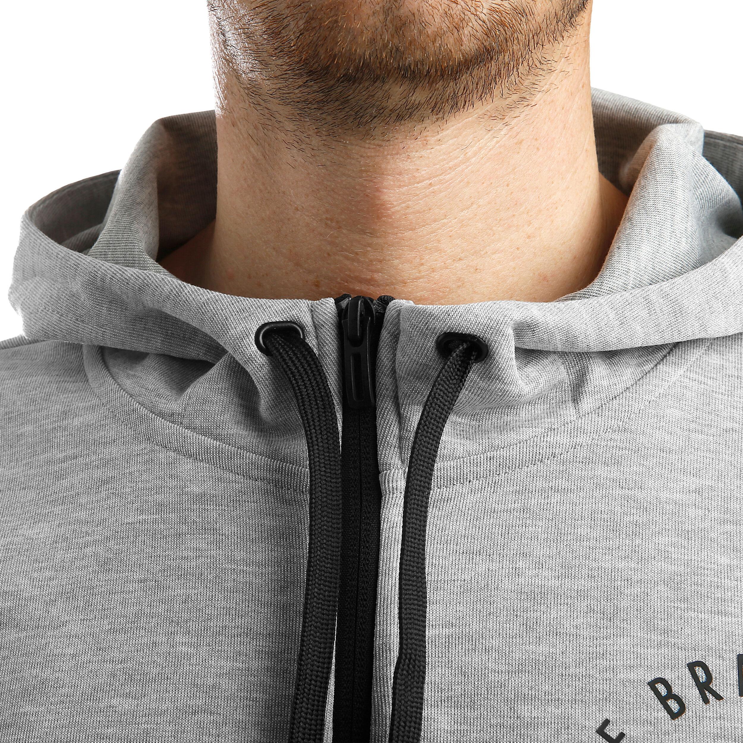 adidas Sport ID Full Zip Trainingsjacke Herren Hellgrau