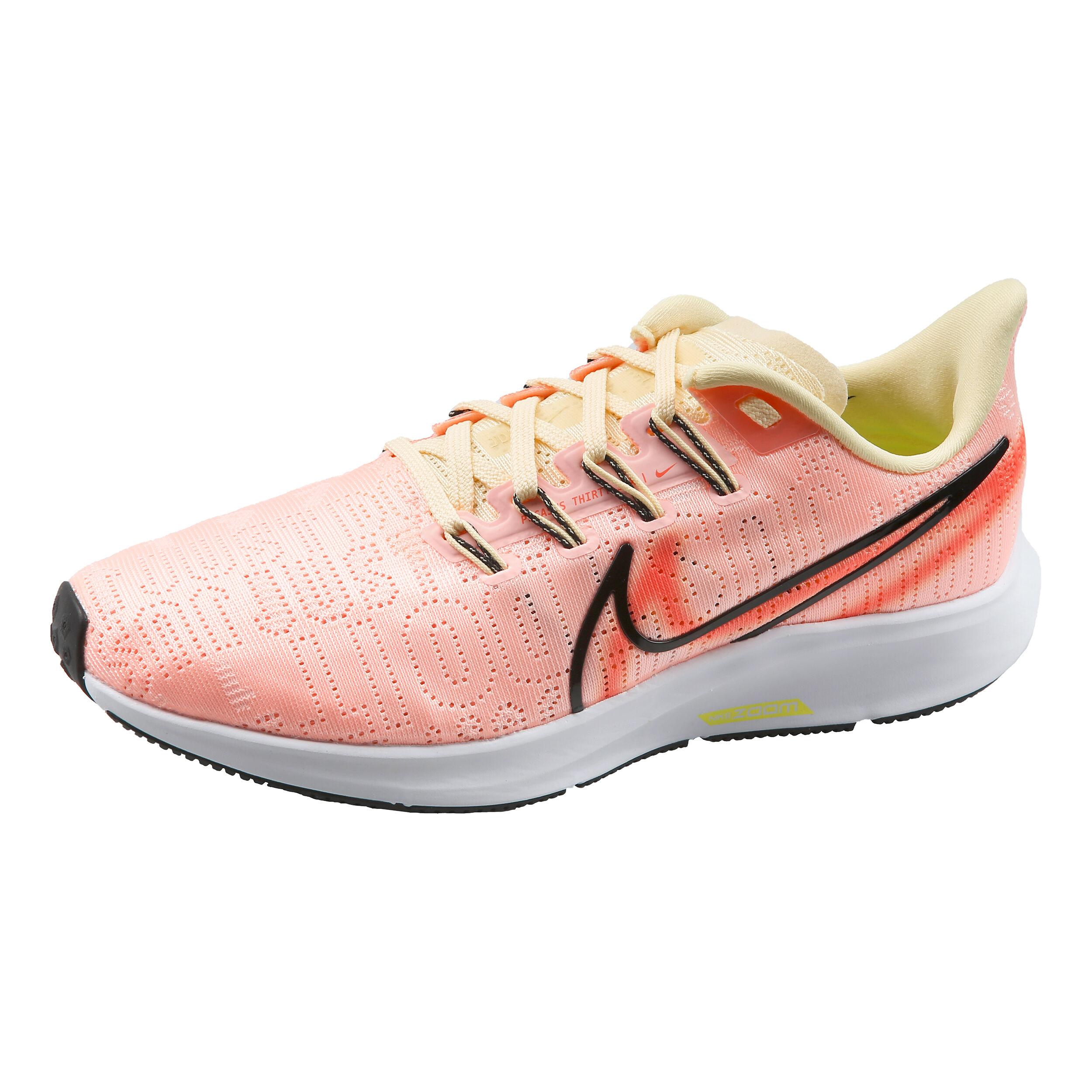 Nike Pegasus Air Zoom 36 Premium Rise Neutralschuh Damen Apricot, Limette