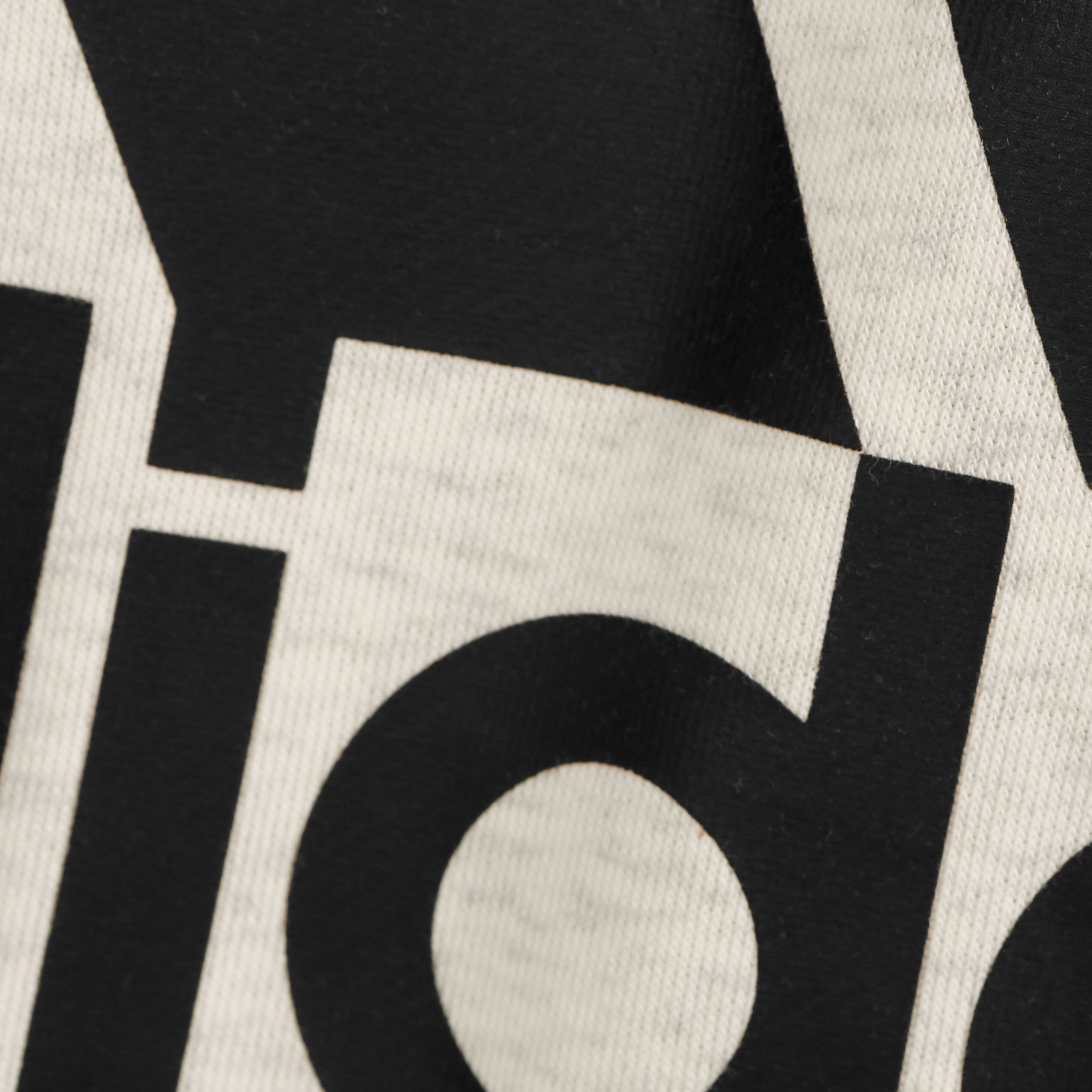 adidas Linear French Terry Hoody Herren Creme, Schwarz