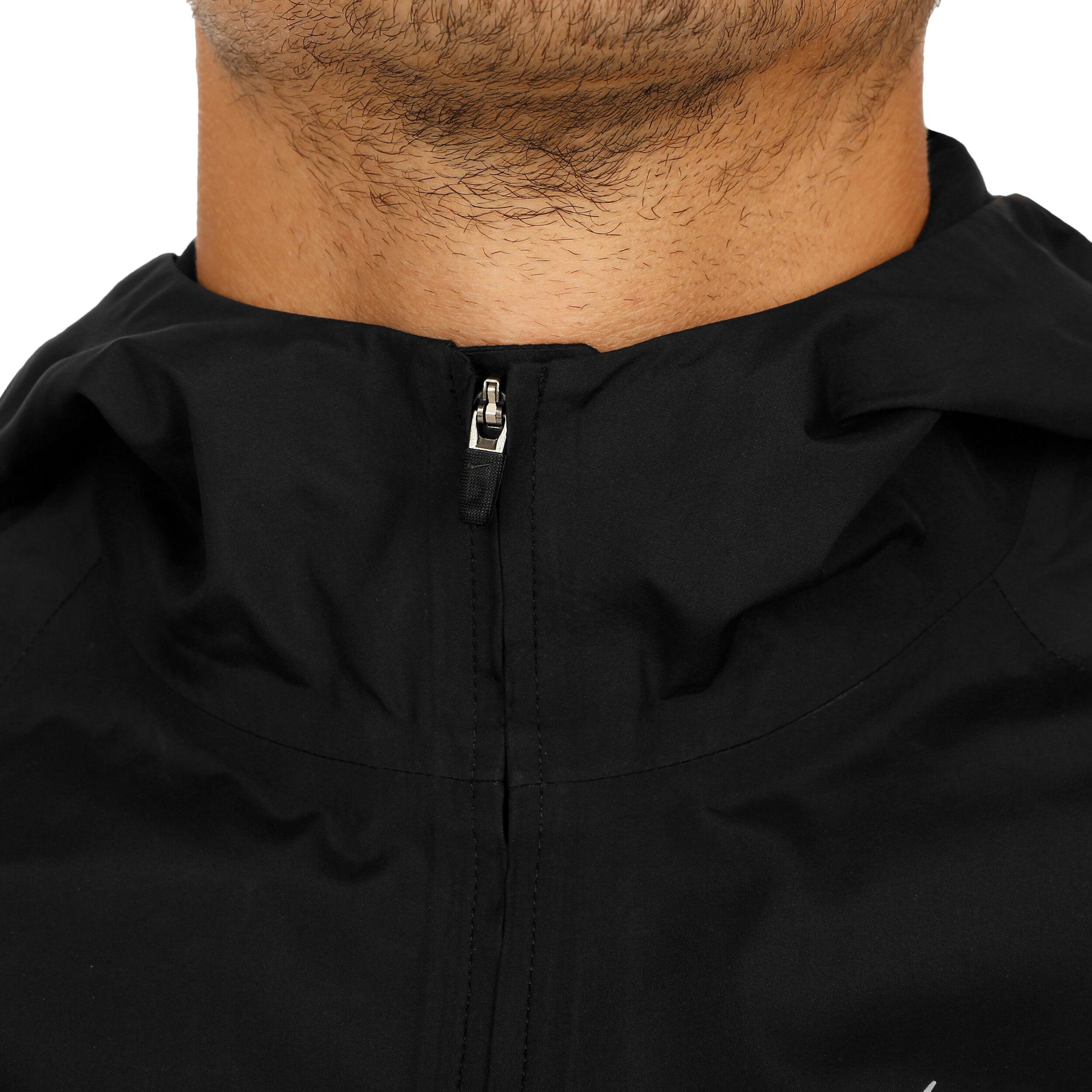 Nike Zonal AeroShield Hooded Laufjacke Herren Schwarz
