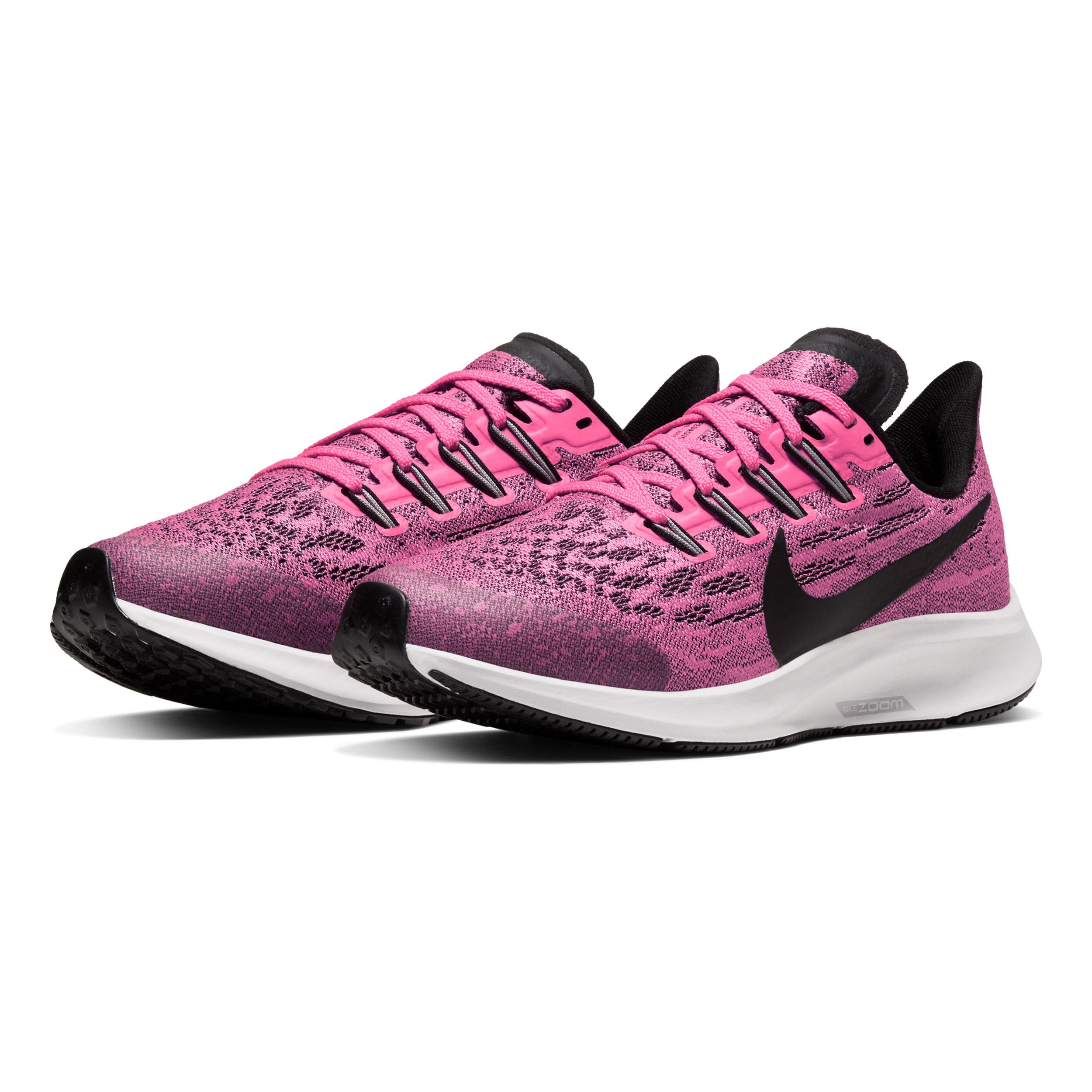 Nike Air Zoom Pegasus 36 Neutralschuh Kinder Pink, Schwarz