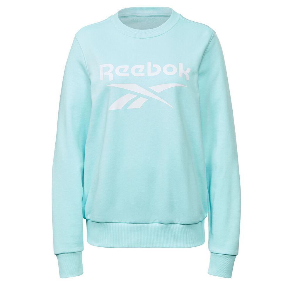 Reebok Ripped Big Logo French Terry Sweatshirt Damen