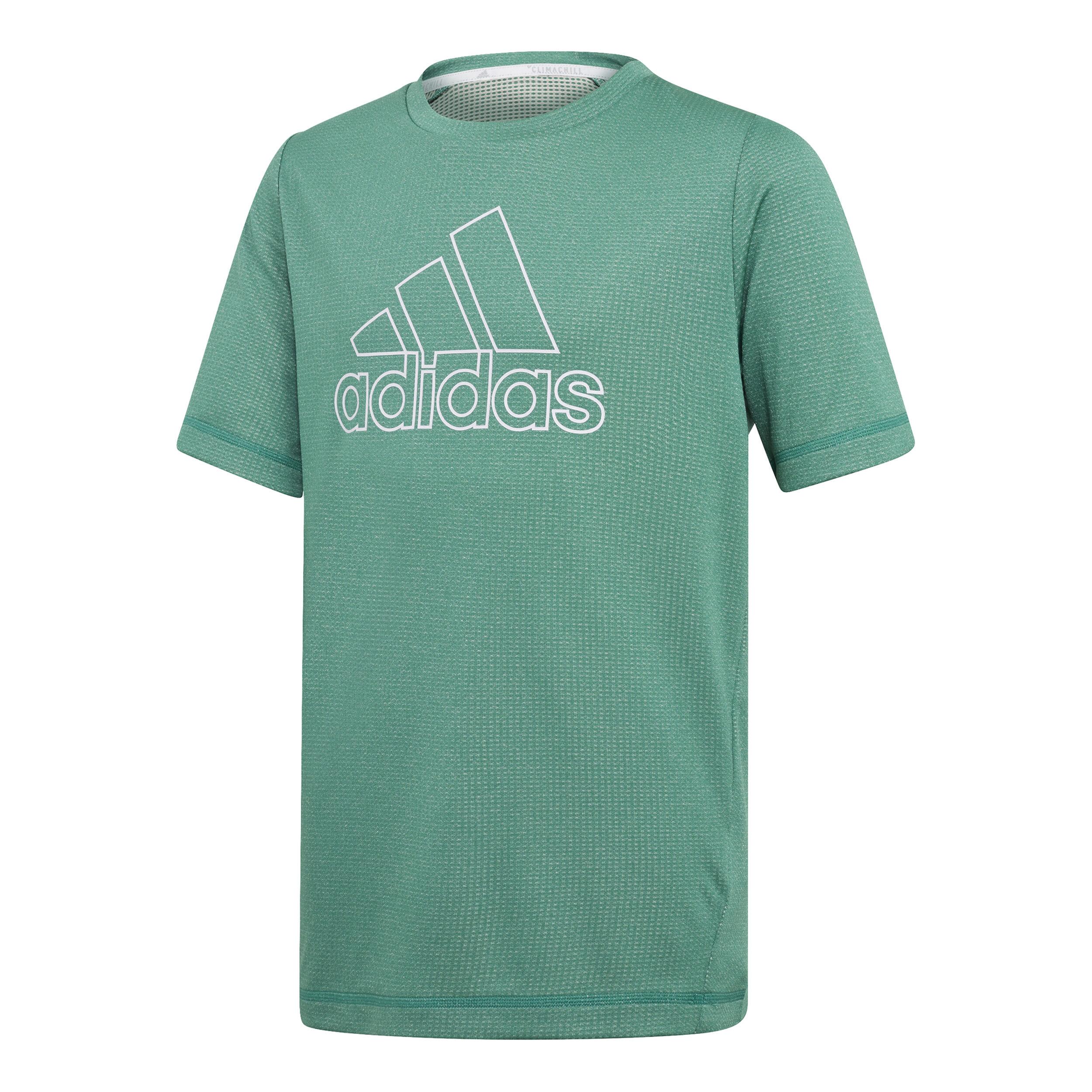 adidas Climachill T Shirt Jungen Mint, Weiß online kaufen