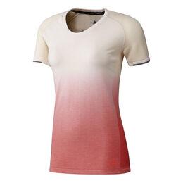 Primeknit  Wool Sh Sleeve Tee Dip Dye Women