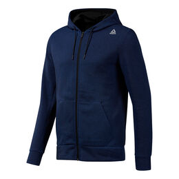 Workout Melange Double Knit Full-Zip Hoodie Men