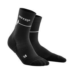 Heartbeat Compression Mid Cut Socks