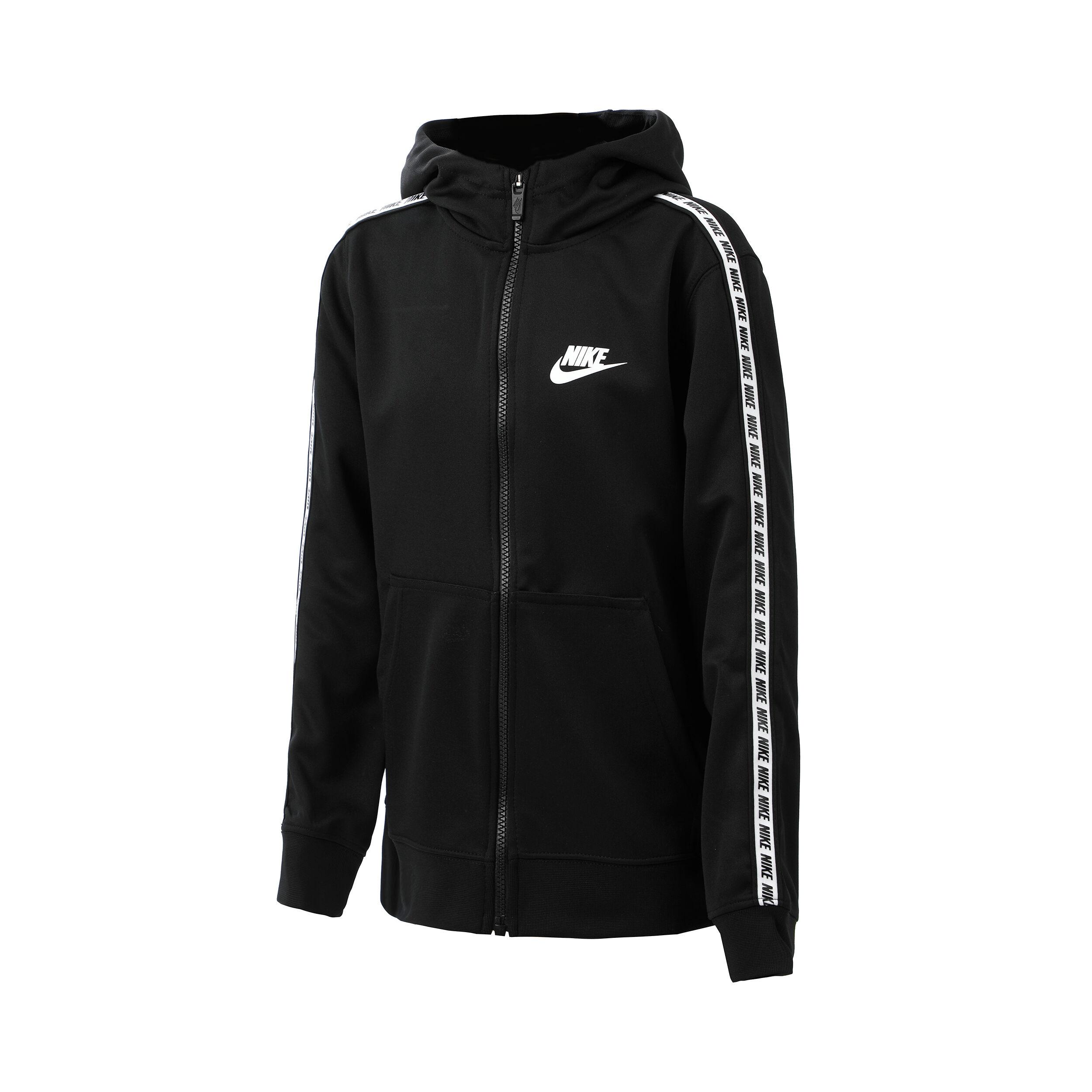 Nike Sportswear REPEAT HOODIE Sweatjacke whiteweiß