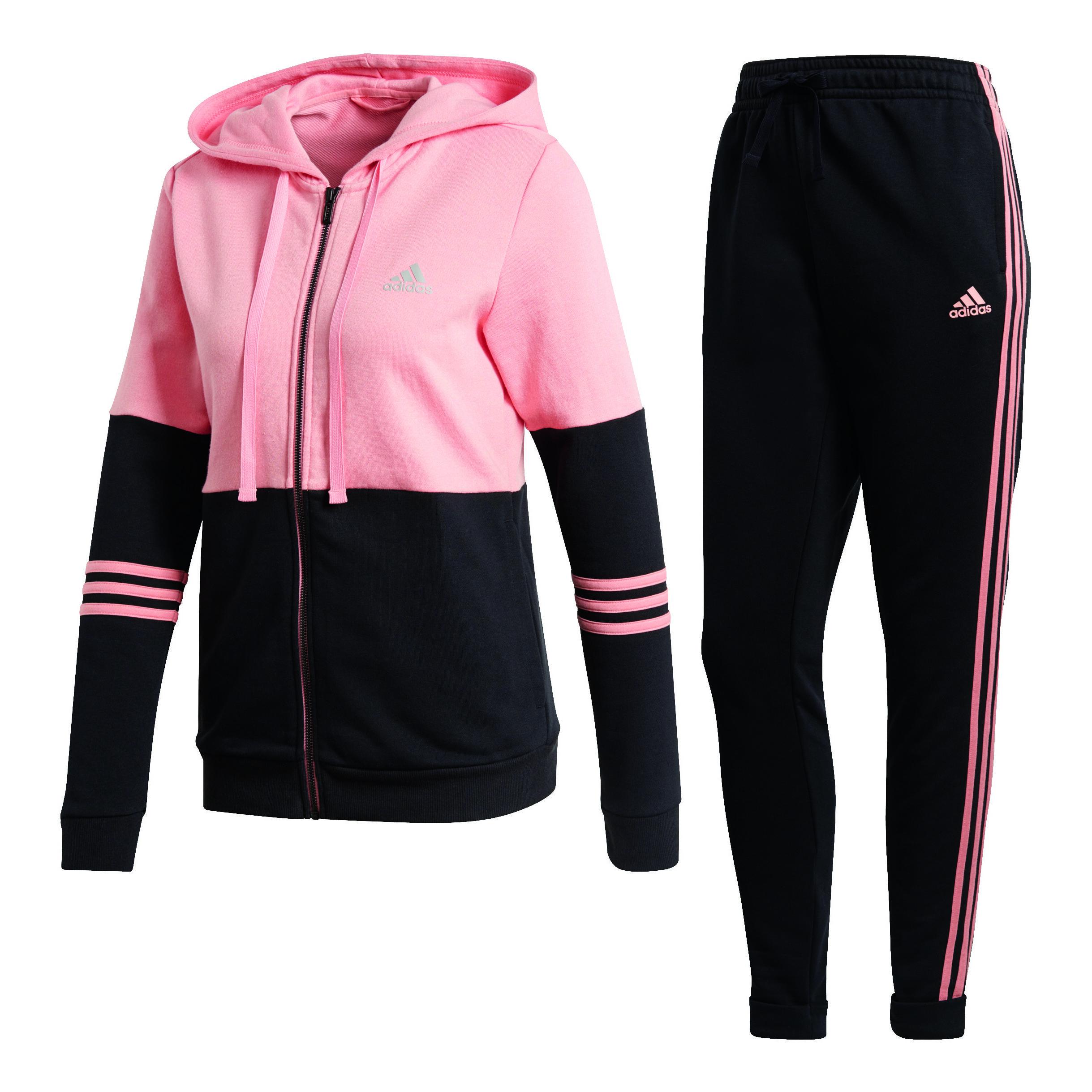 adidas Co Energize Trainingsanzug Damen - Rosa, Schwarz ...