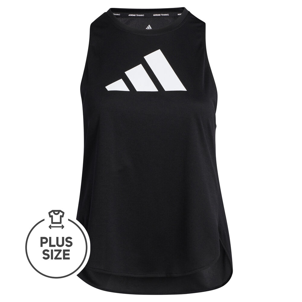 adidas Badge Of Sport Logo Plus Size Tank-Top Damen