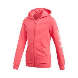 Essential Linear Full-Zip Hoodie Girls