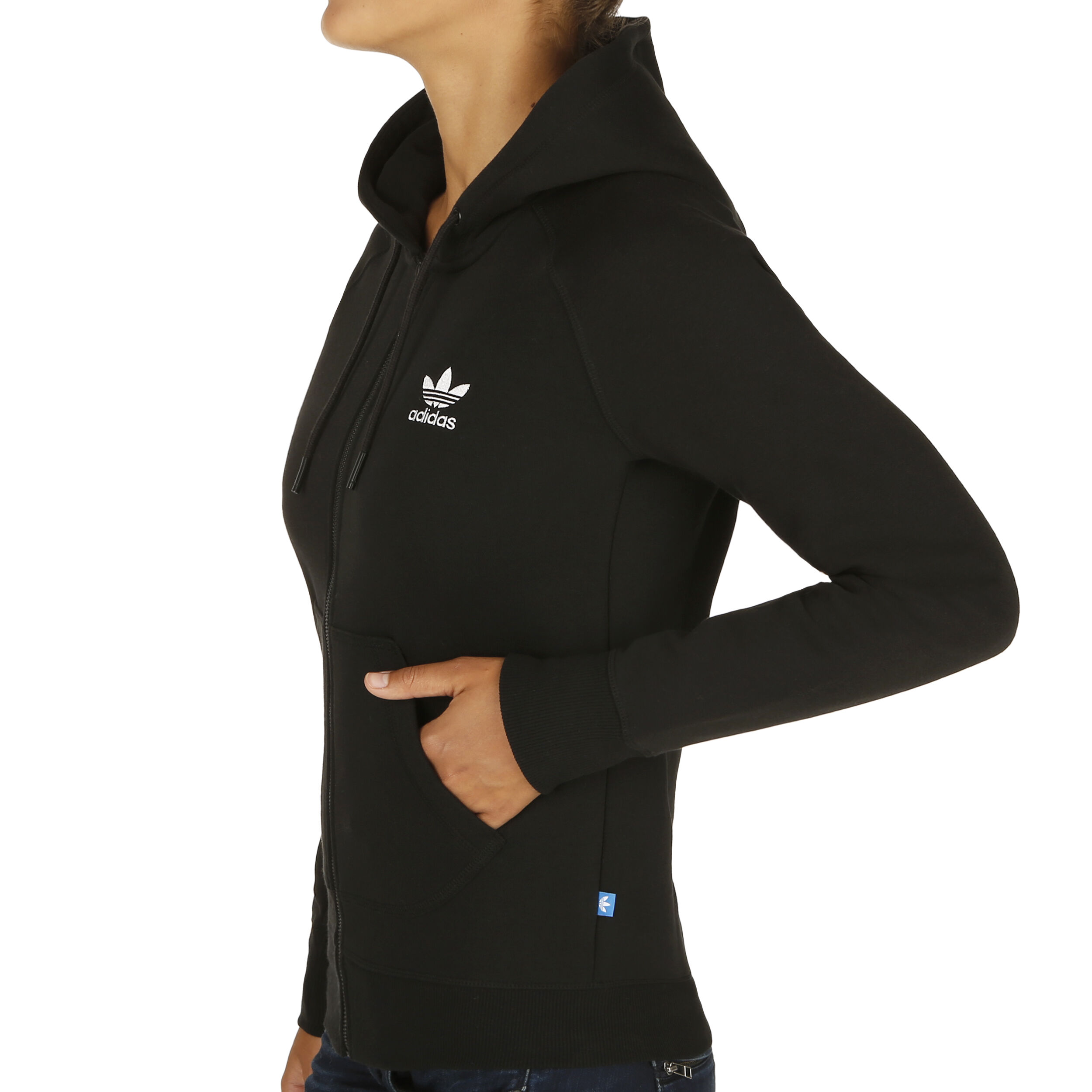 adidas Originals Full Zip Sweatjacke Damen Schwarz online