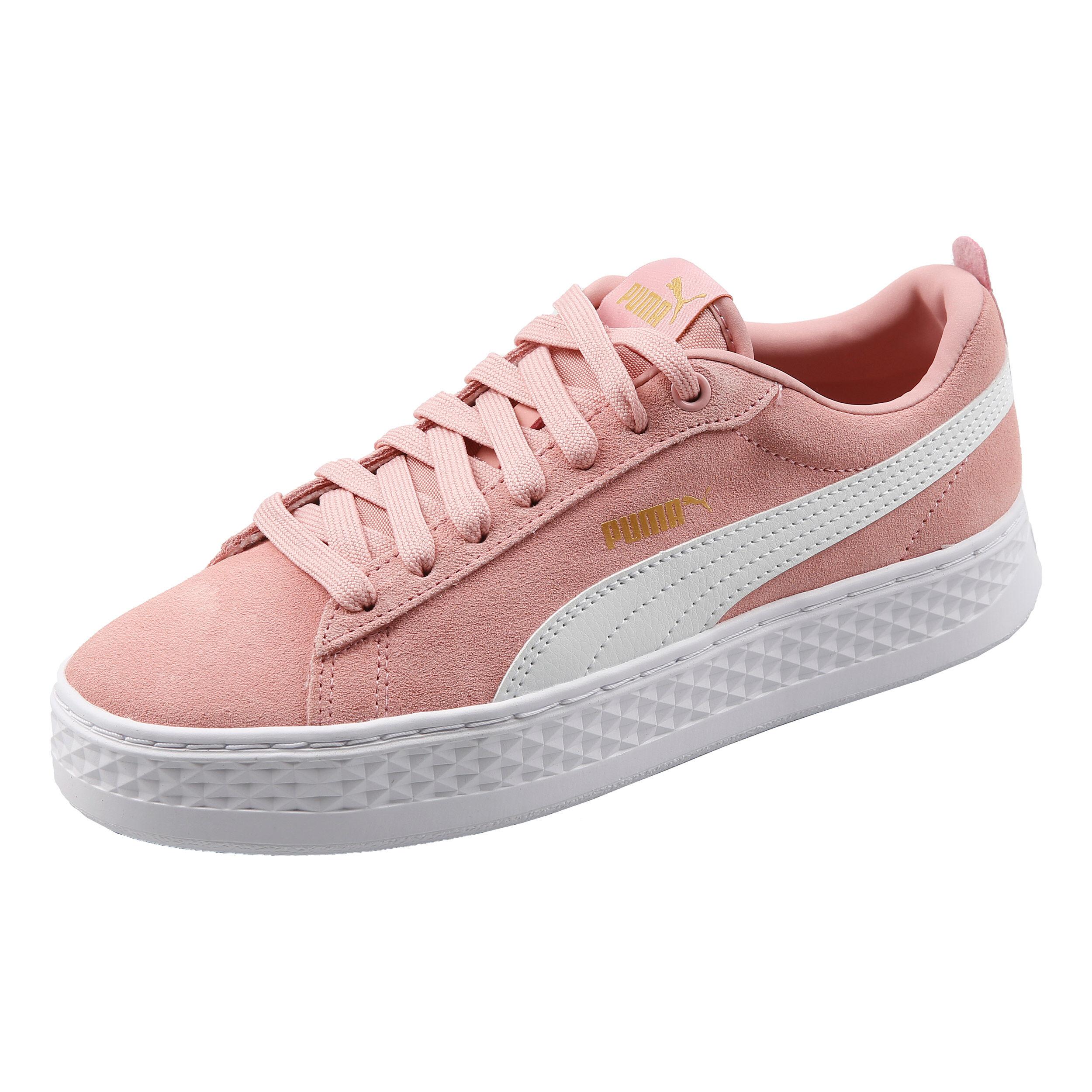 Puma Smash Platform SD Sneaker Damen Rosa, Weiß online